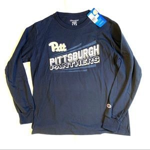 Pittsburgh Panthers Shirt Navy Youth Large NWT